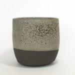 B-6118 oval bowl / vase – diameter 15 cm , height 14 cm