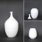 Classic vase - 1 height 23 cm, inside depth 10 cm/ 2 height 23 cm, inside depth 12 cm, total height with spout 32 cm
